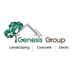 client logo genesis group landscaping concrete decks