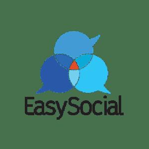 client logo easy social
